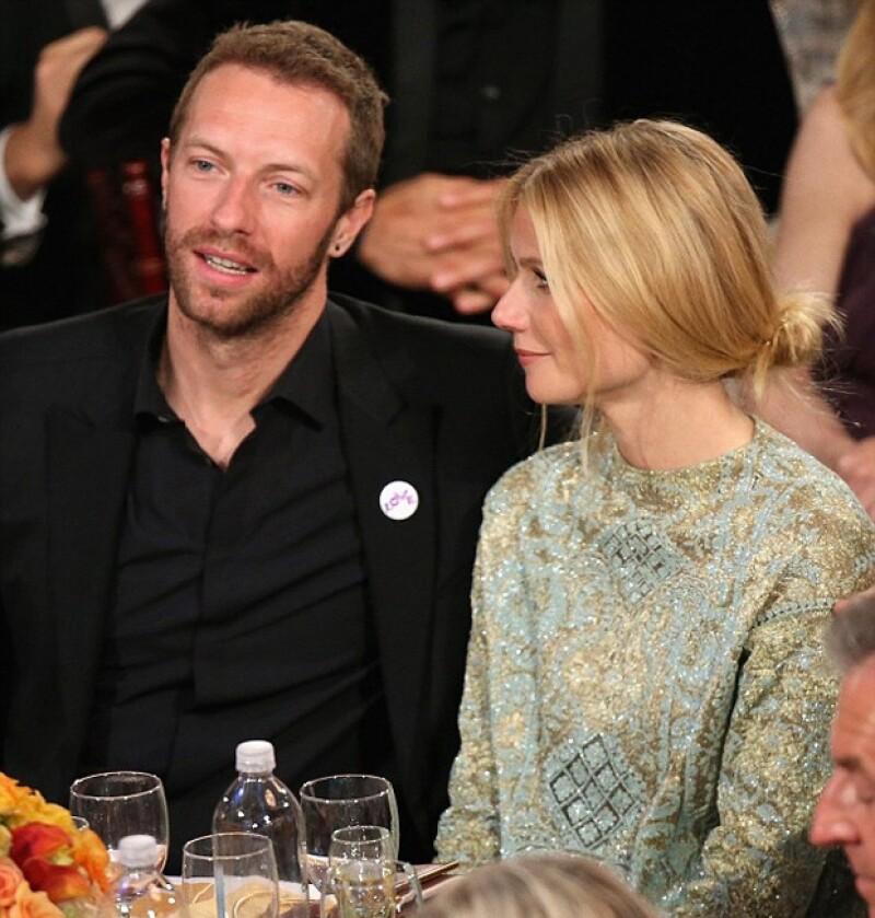 Un día después de la cena con Sean Penn, fueron vistos de nuevo en los Golden Globes.