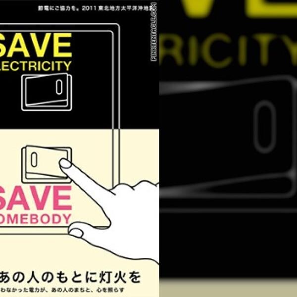 japón ahorro energético poster 12