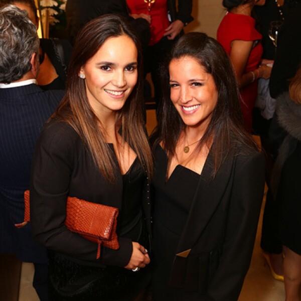 Katy Yaker y Sharon Ovadía