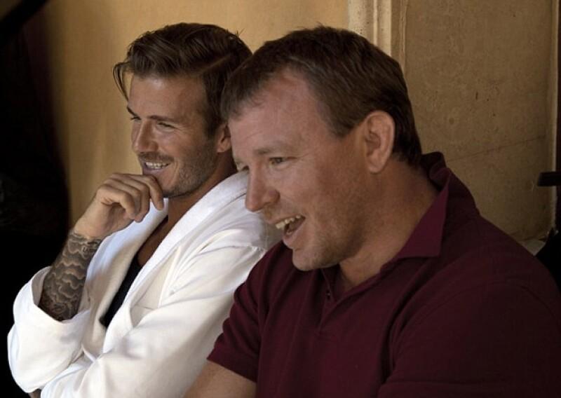 Guy y David son buenos compañeros de trabajo, no perdieron la oportunidad de hablar bien uno del otro.