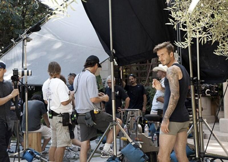 Beckham comentó que trabajar con Guy Ritchie ha sido una gran experiencia.