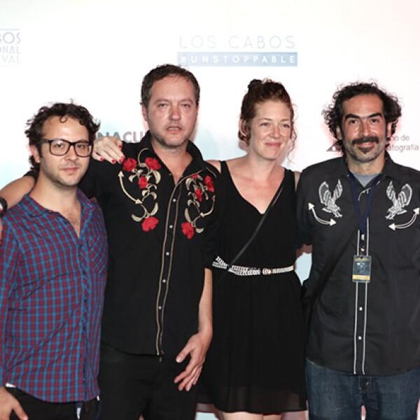 Yibrán Asuad, Gustavo Gamoud, Elisa Miller y Alejandro Durán