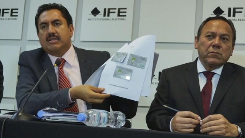 Izquierda en el IFE