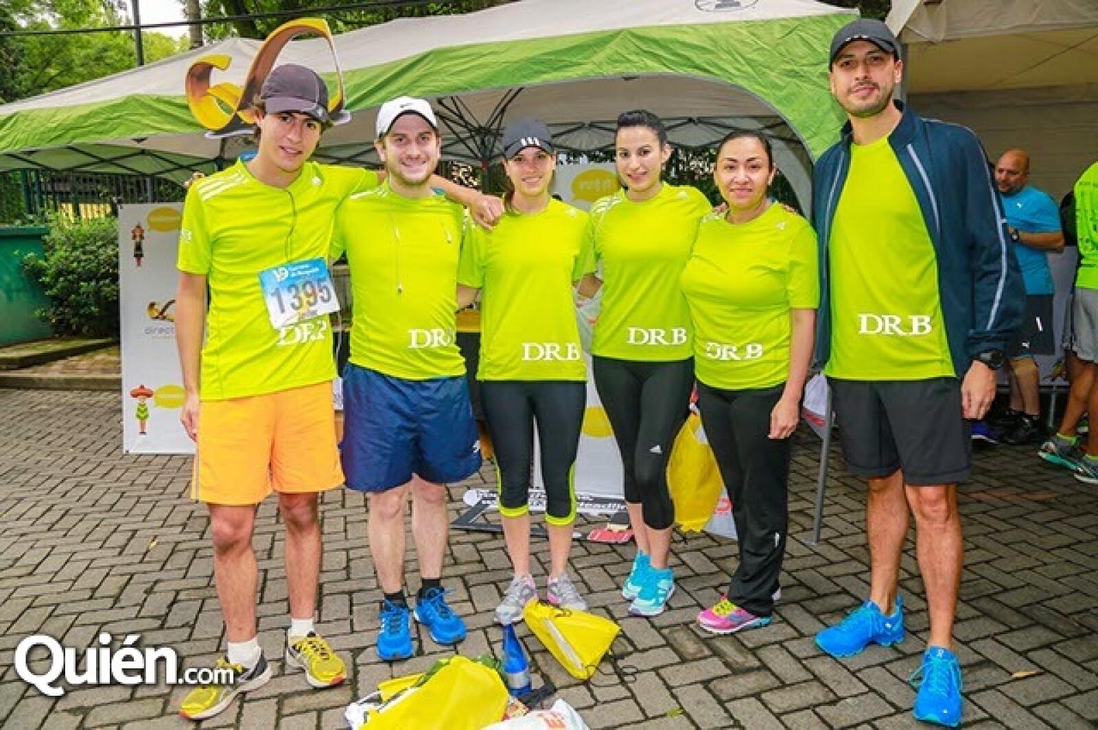 Javier Orozco,Diego Cortina,Fernanda Gallón,Azucena Ahumada,Leticia Delgado y Almaquio Basurto