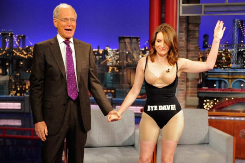 """Más de 30 años con su programa """"The Late Show"""" le valieron al presentador una increíble trayectoria entrevistando a famosas personalidades, mismas que lo acompañaron en su despedida."""