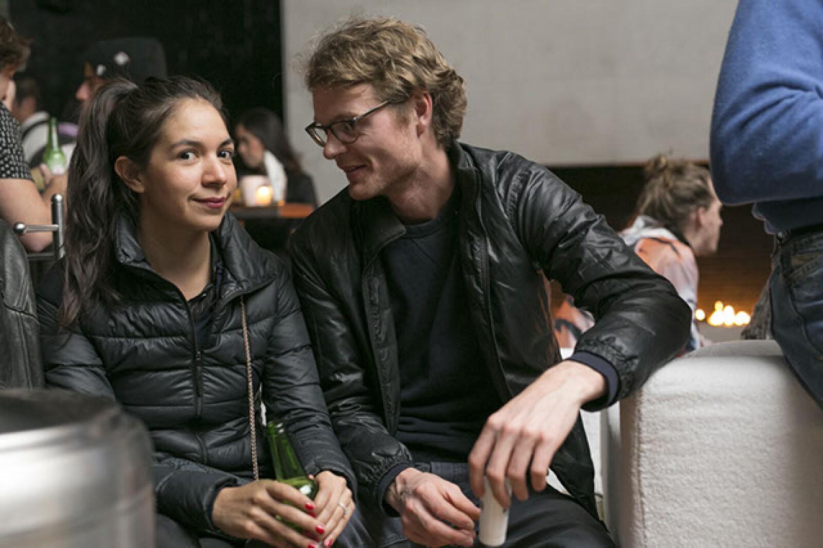 Elisa Medina y Dorian Gaudin