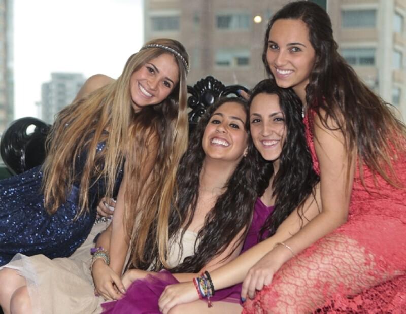 Jessica Cohen, Pola Saadia, Alicia Serur y Daniela Mizrahi se probaron todas las opciones de temporada.