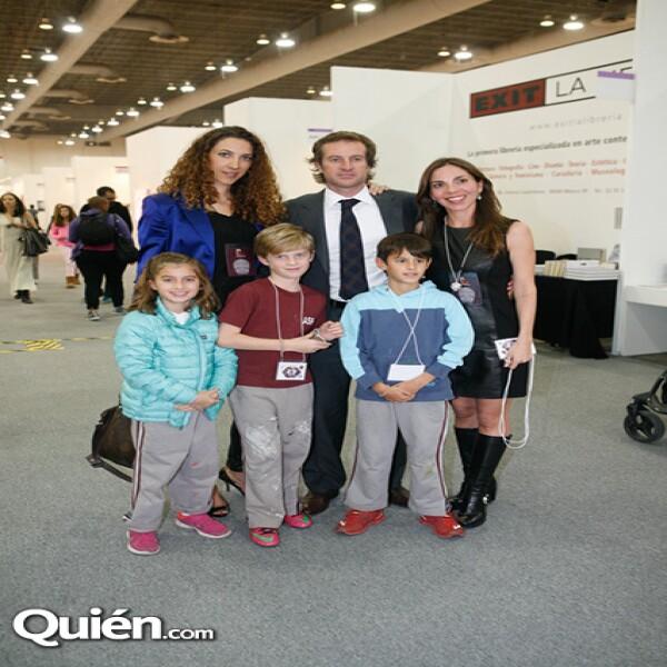 Carla Aparicio,Javier Braun,Andrea Nales,Camila Braun,Javier Braun,Diego Braun