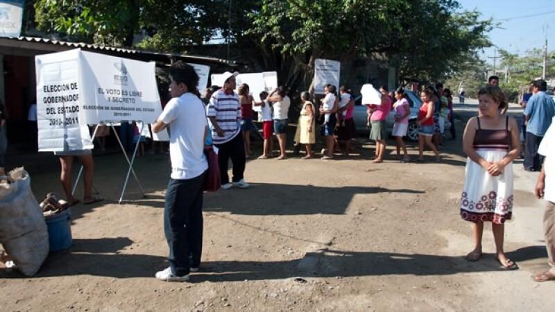 Guerrero ciudadanos elecciones urnas
