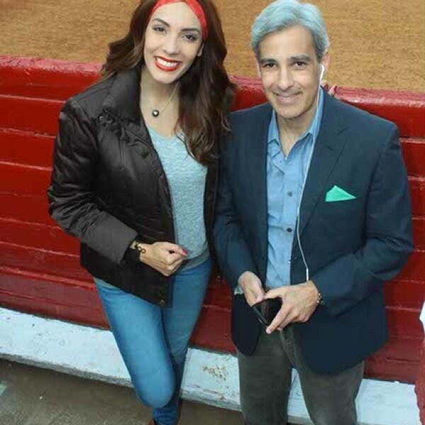 Sebastián Hernández y Carolina Moran
