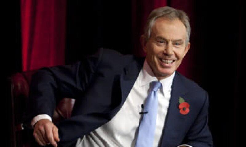 Blair señaló que los tres grandes desafíos de México son las reformas, mejorar el sistema educativo y la seguridad. (Foto: AP)