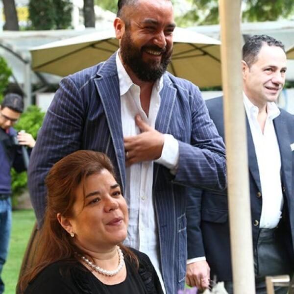 Sonya Santos y Juan Carlos Campos