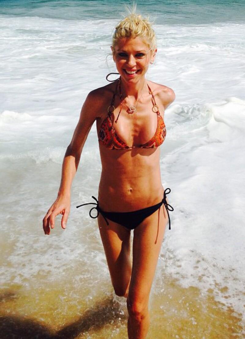 La actriz estadounidense ha compartido diversas fotos de su estancia en Los Cabos por Instagram.