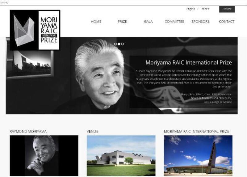 Premio Moriyama RAIC Prize Canada