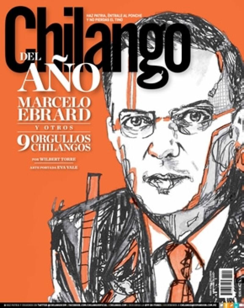 La revista Chilango nombró al Jefe de Gobierno del D.F y fue la artista plástica Eva Vale quien pintó el retrato del político que aparece en la portada de diciembre.