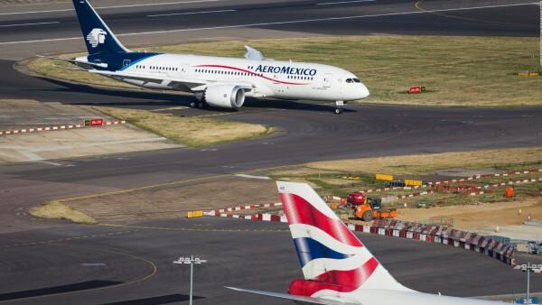 El acuerdo de cooperación conjunta entre Aeroméxico y Delta despegó