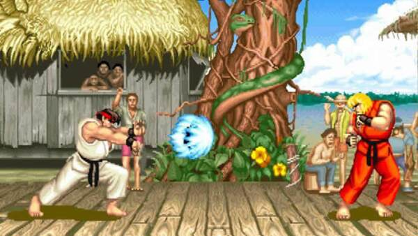 Street Fighter !!