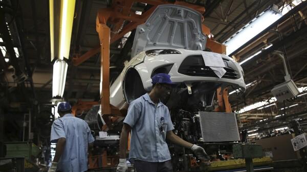 Ford planta Sao  Paulo Brasil