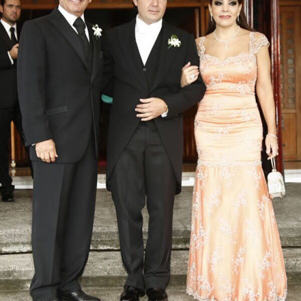 Daniel,Jorge e Isabel Goñi