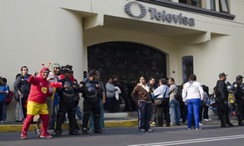 Televisa podrá presentar  pruebas, alegatos o comentarios sobre la resolución del IFT. (Foto: Cuartoscuro )