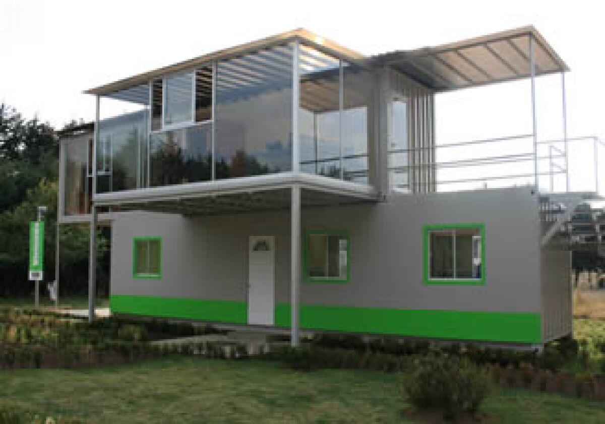 Mi nueva casa un contenedor for Diseno de oficinas con contenedores