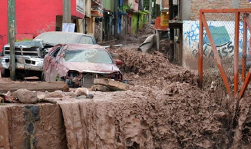 Las precipitaciones afectan a varios municipios de Gerrero (Foto: Notimex)