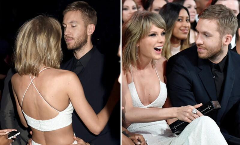 La aparición de la pareja durante los Billboard Music Awards 2015.