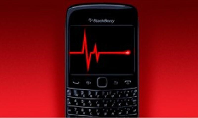 BlackBerry perdió 646 millones de dólares al cierre de su año fiscal 2013.  (Foto tomada de cnnmoney.com)