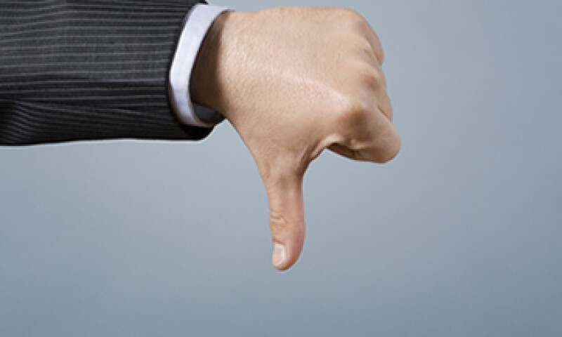 Del primer al tercer trimestre de 2013, la confianza empresarial cayó a terreno positivo al pasar de 53.0 a 36.5 puntos. (Foto: Getty Images)