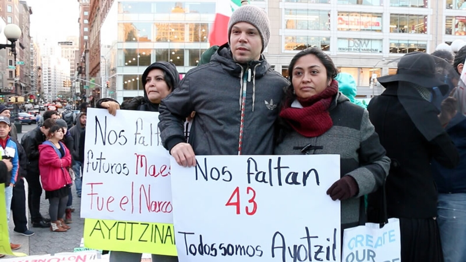 René Pérez Joglar, 'Residente', integrante del grupo Calle 13, acudió a Union Square