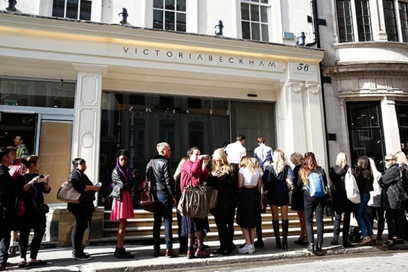 La tienda esta ubicada en uno de los barrios más lujosos de Londres.