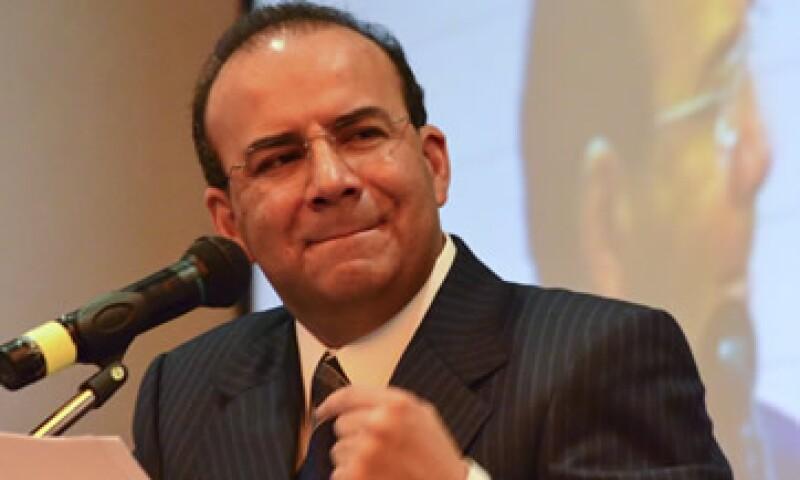 Alfonso Navarrete presentó su denuncia ante la Procuraduría General de Justicia del DF. (Foto: Cuartoscuro)