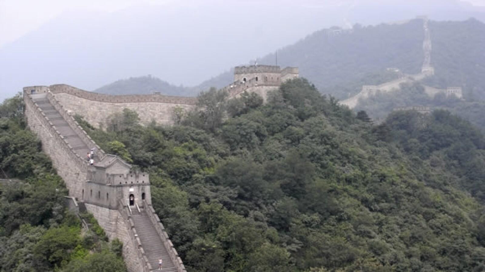 La Gran Muralla china es nombrada Maravilla del Mundo