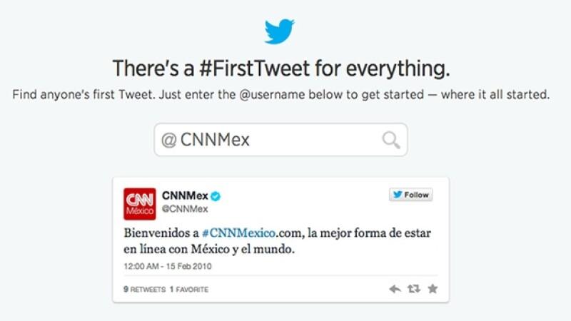 FirstTweet