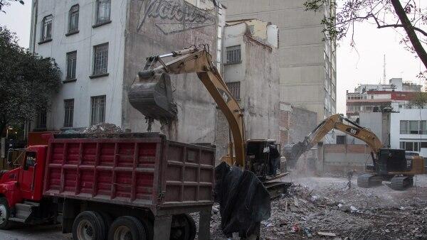 Edificio dañado