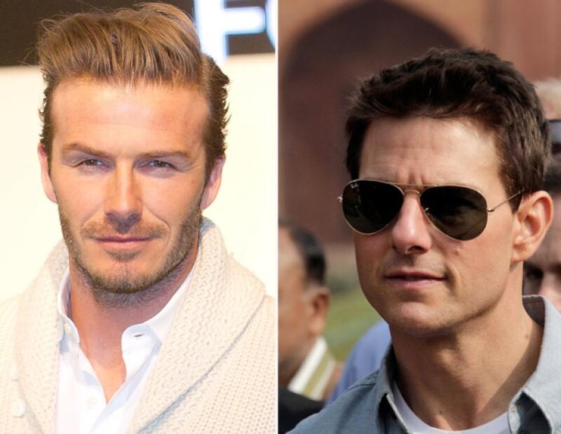 El futbolista considera que el ex esposo de Katie Holmes es una persona excelente´. El británico y el protagonista del filme `Rock of Ages´se conocieron en Los Ángeles, California.