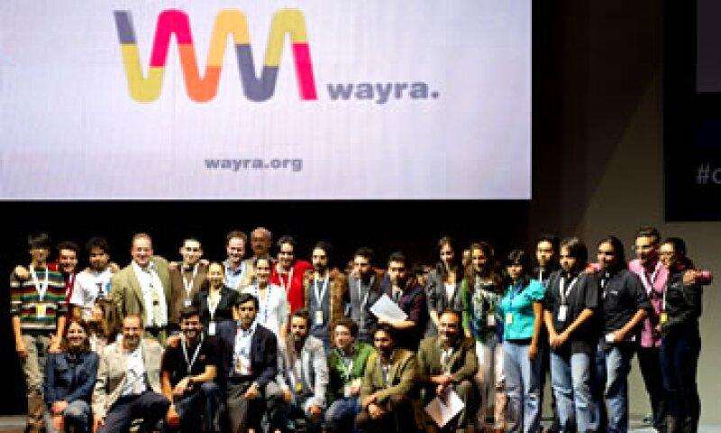 Los 10 proyectos ganadores de Wayra en México podrán interactuar con sus similares en Colombia, Argentina, Chile, Perú , Ecuador y Venezuela. (Foto: Cortesía)
