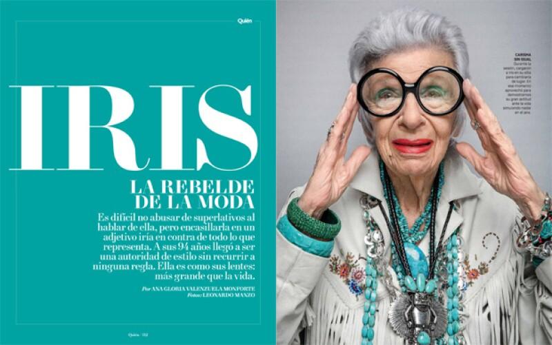 Iris Afpel en exclusiva para Quién®.