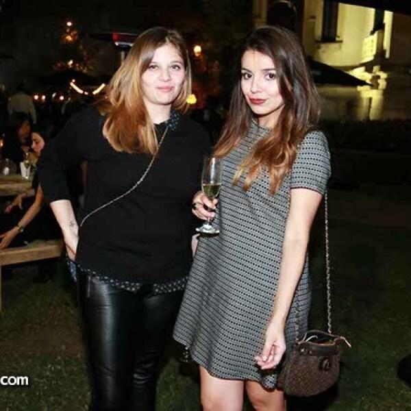 Zalma Rogil y Liz Burgos