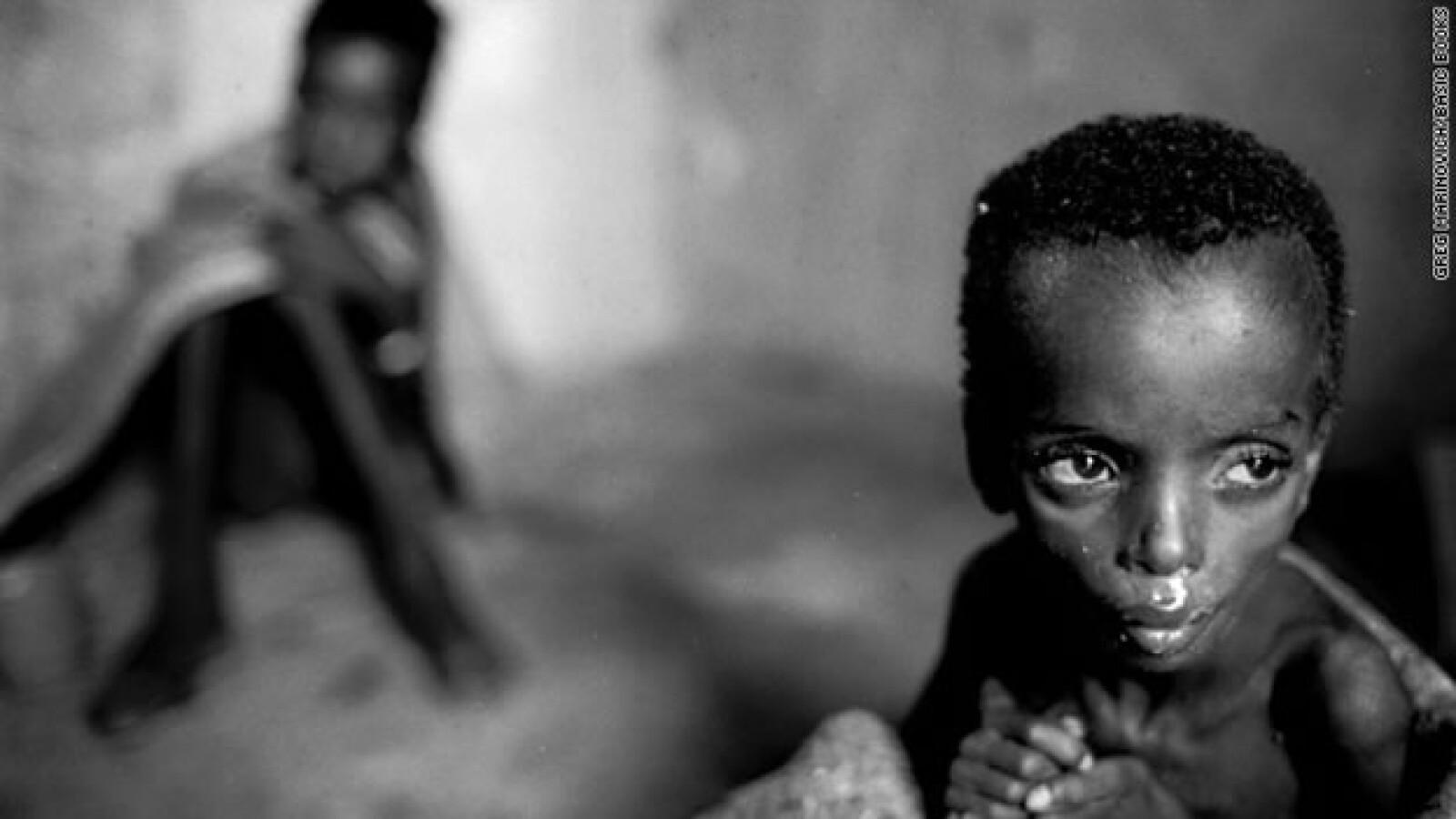 bang bang club - niña Somalia