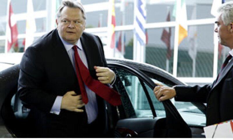 El ministro de Finanzas de Grecia, Evangelos Venizelos, declaró que Grecia no es el problema central de la zona del euro. (Foto: AP)
