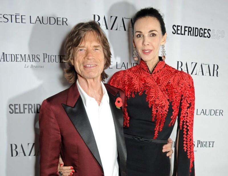 Mick Jagger y L´Wren Scott mantuvieron una relación de 13 años.