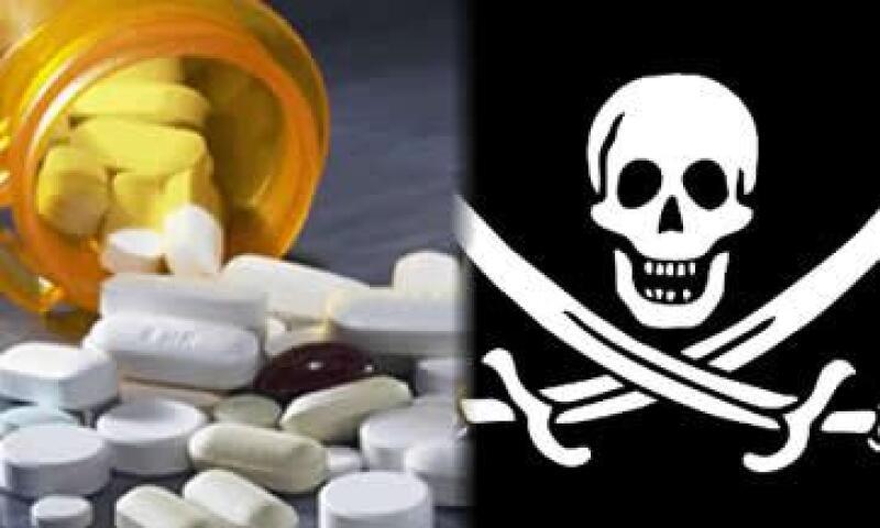 pirateria medicina