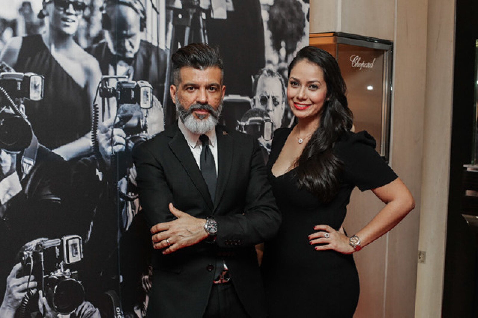 Lorenzo Rivero y Anielka Sandoval