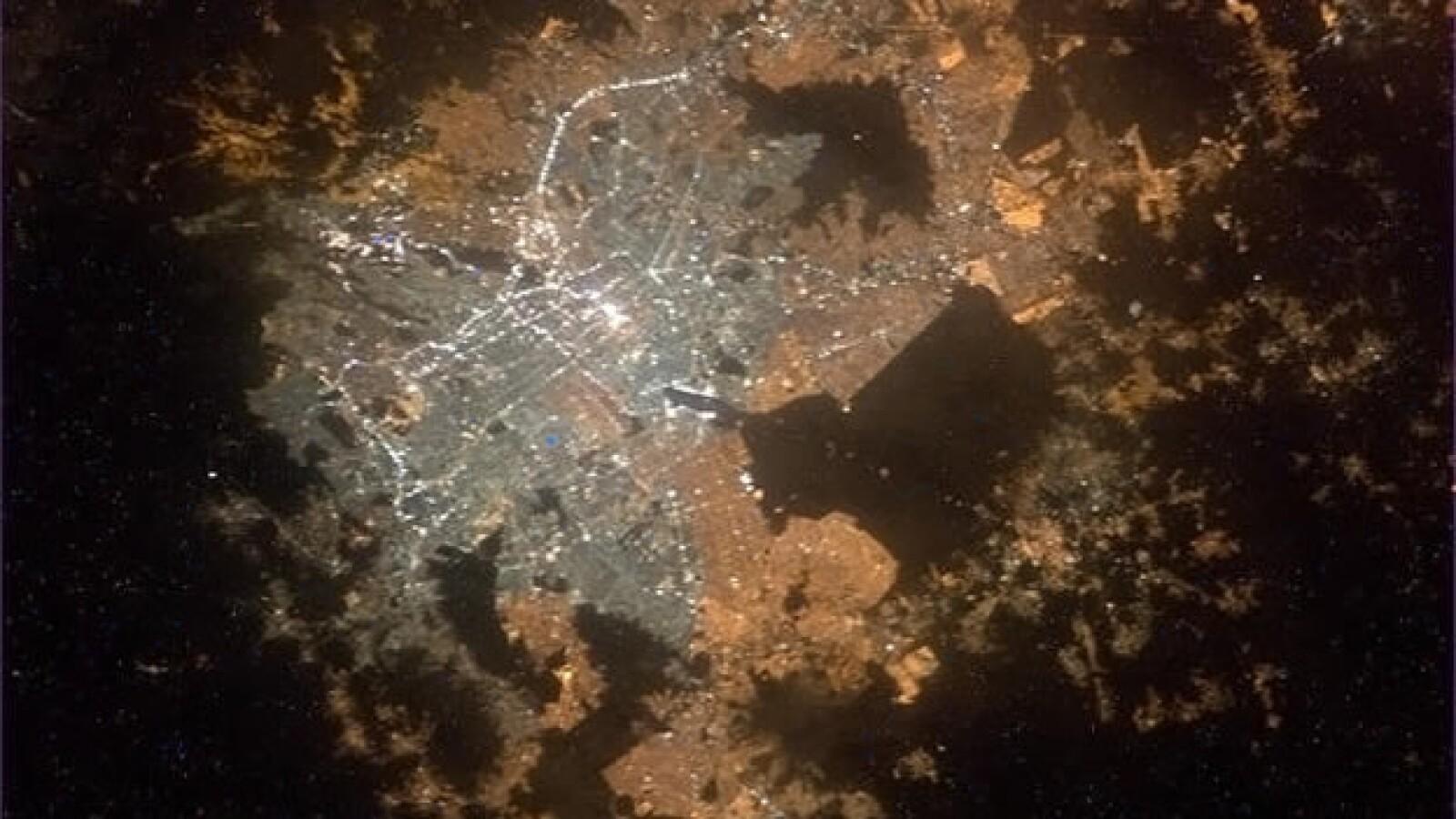 Imágenes de ciudades mexicanas desde el espacio