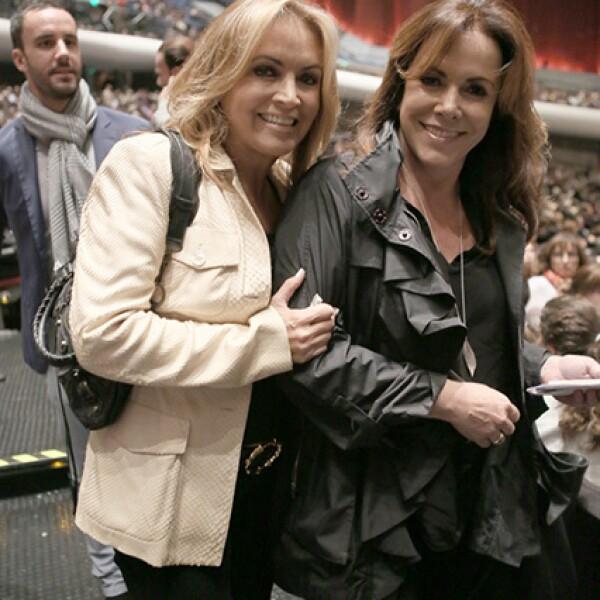 Rosaura Henkel y Ana Garza
