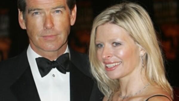 Charlotte contrajo matrimonio con el artista Alex Smith y fue el propio Pierce quien la entregó en el altar.