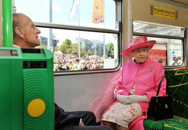 Queen Elizabeth II State Visit to Melbourne, Australia - 26 Oct 2011