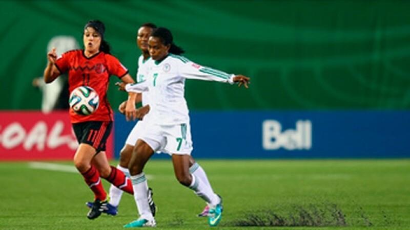 La Selección Mexicana Femenil Sub-20 empató con su similar de Nigeria en el Mundial en Canadá