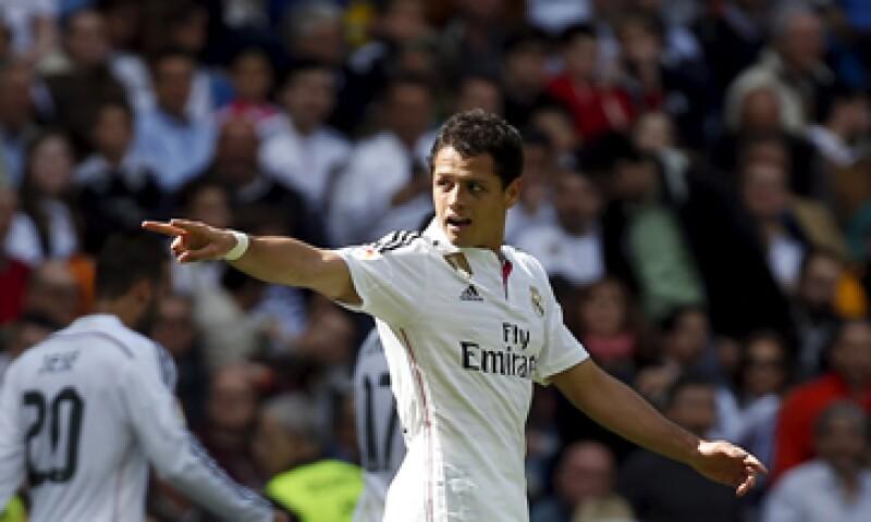 El mexicano vale menos que su compañero de equipo Cristiano Ronaldo. (Foto: Reuters)